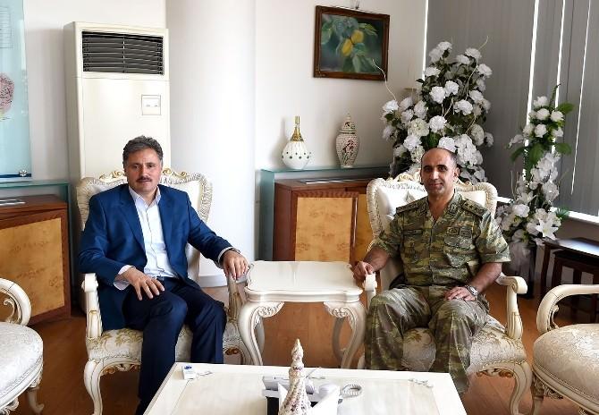 Albay Şerafettin Yılmaz'dan Başkan Çakır'a Ziyaret