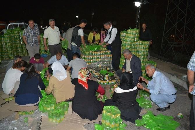 Hakkari'de Muhtaç Ailelere Yardım