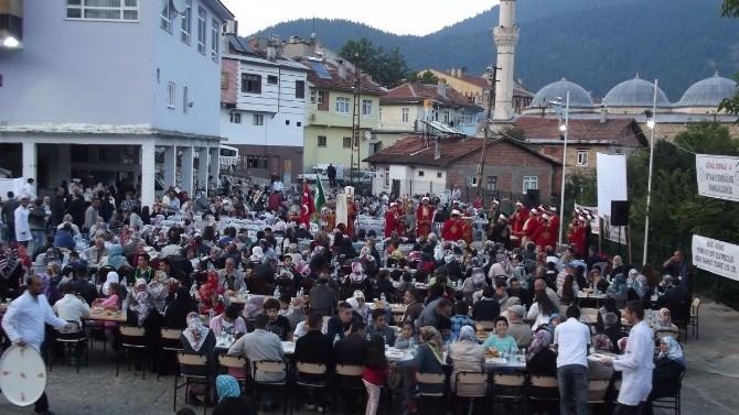 Küre Gönül Sofrası İftar Programına 1400 Kişi Katıldı