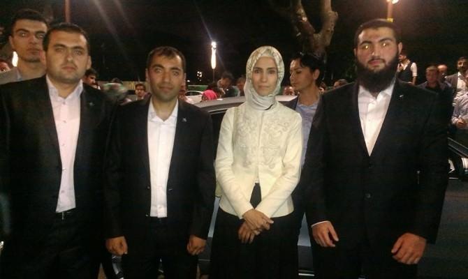 Tügva Üyeleri Sümeyye Erdoğan'la Buluştu