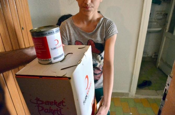 Türk Kızılayı Bu Ramazan Da Yoksulları Unutmadı