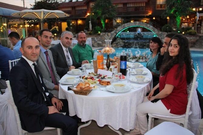 UEDAŞ Yalova Müdürlüğü Personeli İftarda Biraraya Geldi