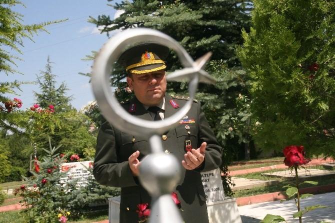 Yozgat Jandarma'dan Şehitliğe Ziyaret