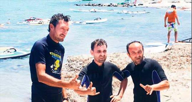 Ersin'in sörfle mücadelesi