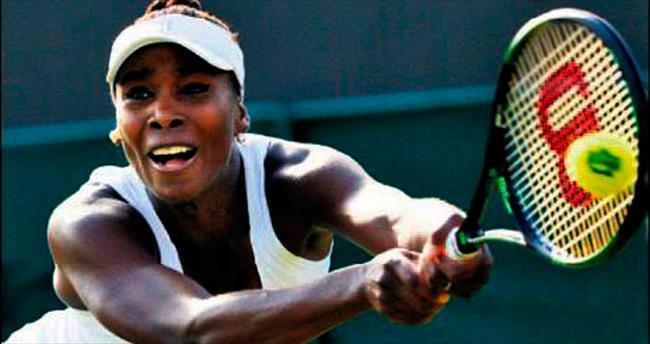 Garanti Koza Arena'da Venus Williams rüzgarı