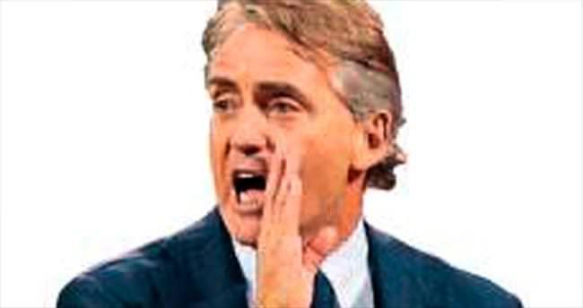 Mancini ile test maçı...
