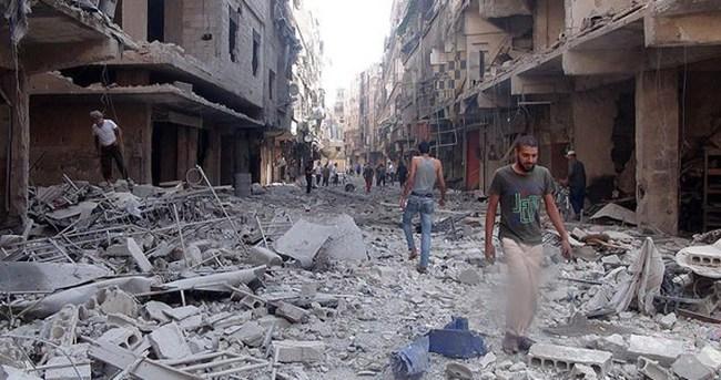 Yermuk'a varil bombalı saldırı: 1 ölü 8 yaralı