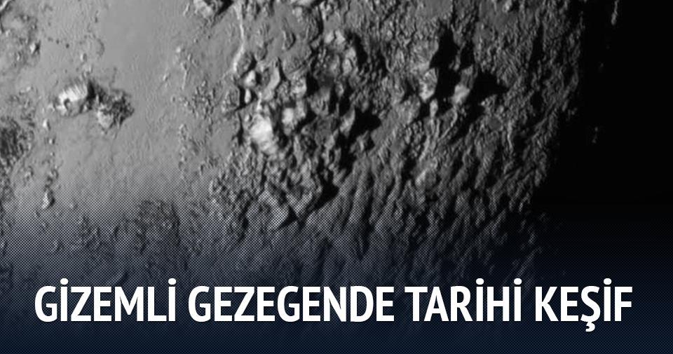 Gizemli gezegen Plüton'da şaşırtan keşif