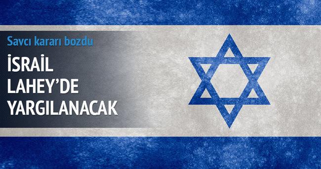 İsrail, Lahey'de yargılanacak