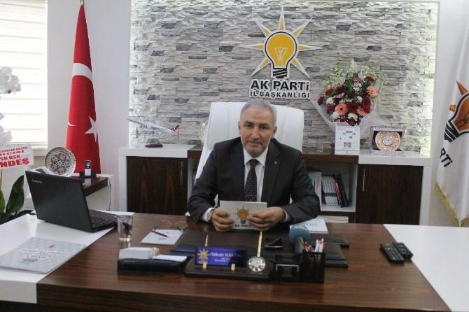 AK Parti İl Başkanı Kahtalı'dan Bayram Mesajı