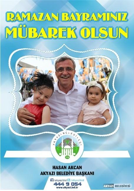 Başkan Akcan'dan Ramazan Bayramı Mesajı