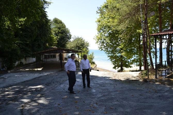 Alaplı Belediye Plajı Bayram Sonrası Açılıyor