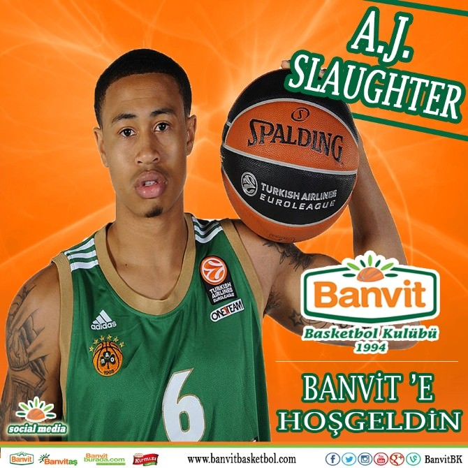 Aj Slaughter Banvit'te