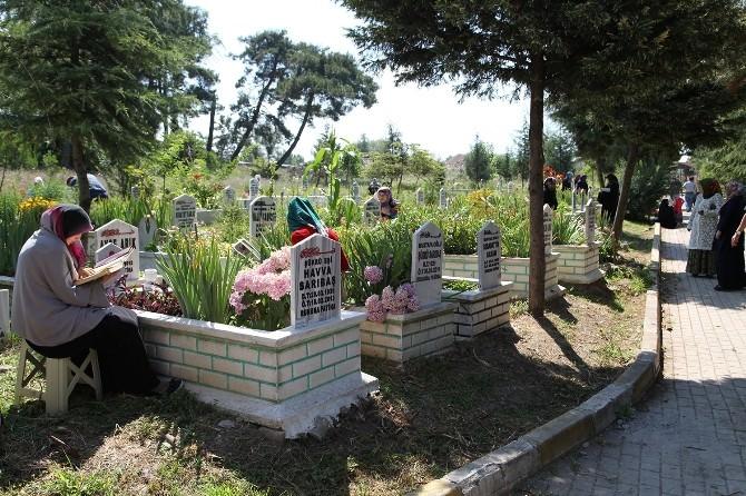 Başişkele Mezarlıkları Renklendi