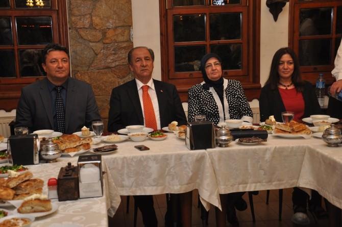 Çorum Emniyet Müdürlüğü'nden Şehit Aileleri Ve Gazilere İftar