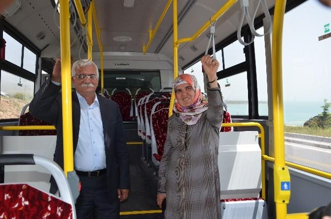 Erciş Belediyesi'nden Ücretsiz Ulaşım Hizmeti