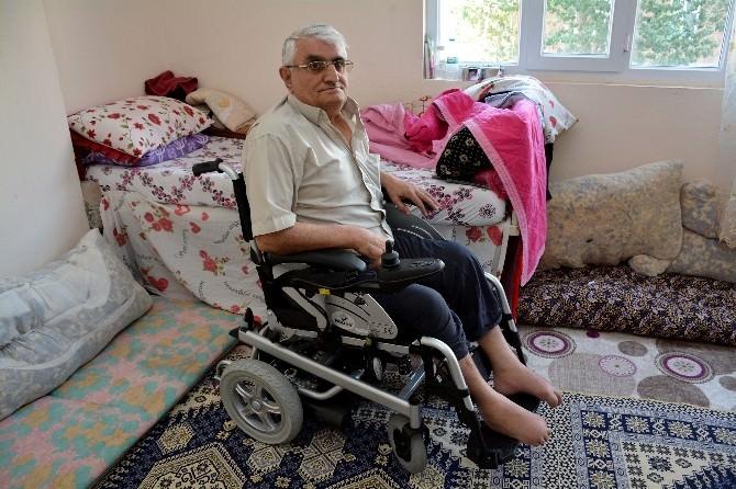 Kardeş Belediyeden Engelli Vatandaşlara Akülü Araç