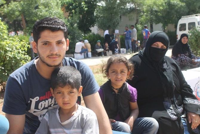 Mardin'deki Iraklı Aileler Yardım Bekliyor