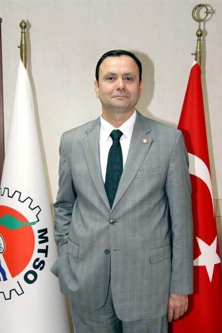 MTSO Başkanı Aşut, Ramazan Bayramı'nı Kutladı