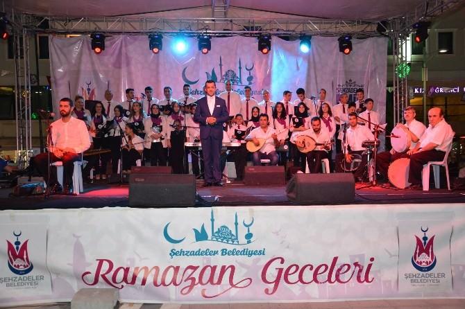 Şehzadeler'den Elveda Ramazan Konseri