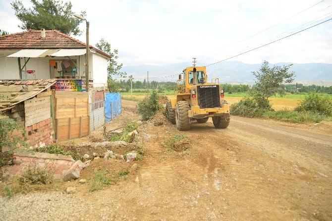 Erbaa'da Kazaların Yaşandığı Yolda Çalışma Başlatıldı