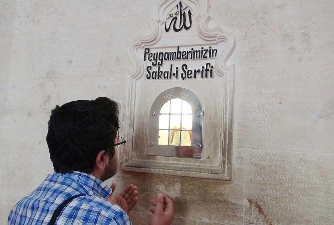 Mardin'de Sakal-ı Şerife Yoğun İlgi