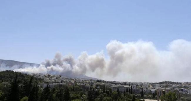 Yunanistan'da büyük yangın