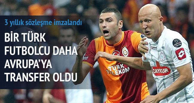 Bir Türk futbolcu daha Avrupa'ya transfer oldu