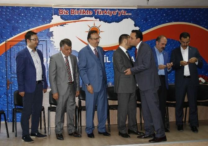 Nevşehir AK Parti Teşkilatı Bayramlaştı