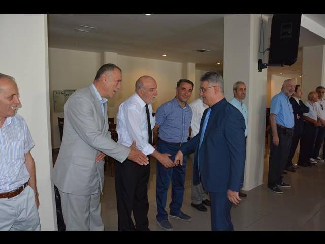 Akçakoca'da Bayramlaşma Töreni Nikah Salonunda Yapıldı