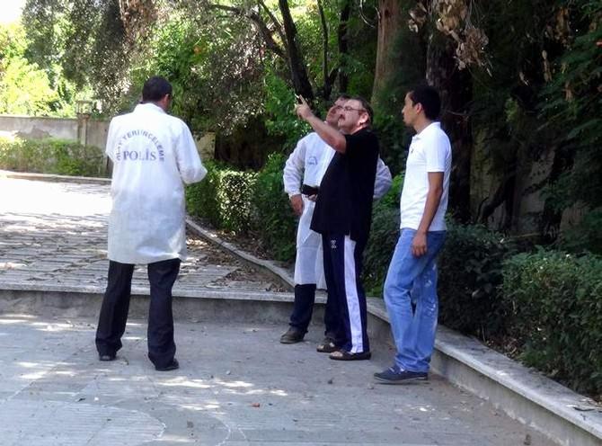 Aydın'da Eski Başkanın Evine Silahlı Saldırı