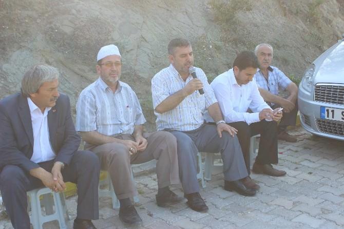 Osmaneli'de Arife Günü Mezarlık Ziyaretleri