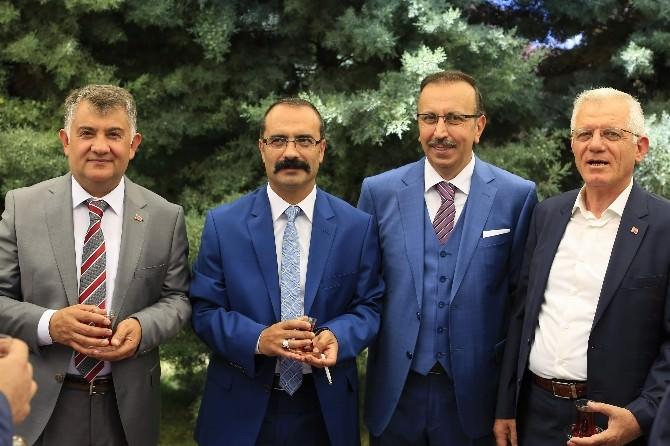 Nevşehir'de Protokol Bayramlaştı