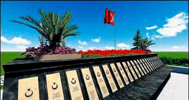 Fethiye Belediyesi şehitleri unutmadı
