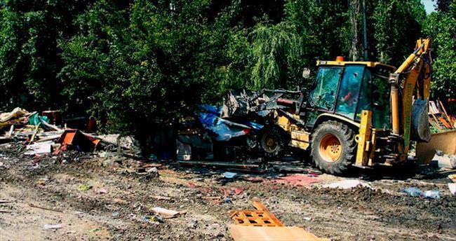 Öveçler'de çevre temizliği