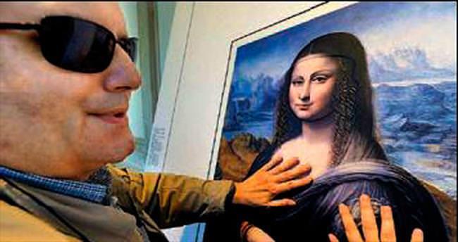 Görme engelliler için Mona Lisa