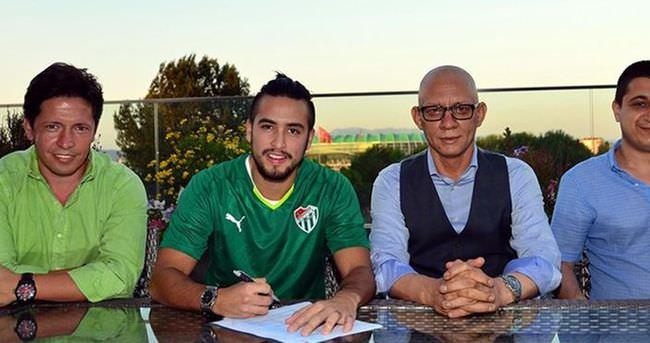 Bursaspor Jorquera ile imzaladı