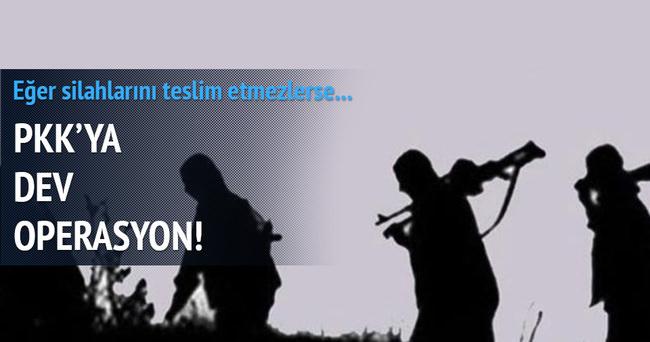 PKK'lılara büyük operasyon