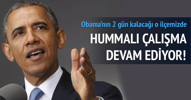 Antalya'da Obama için özel villa yapılıyor!