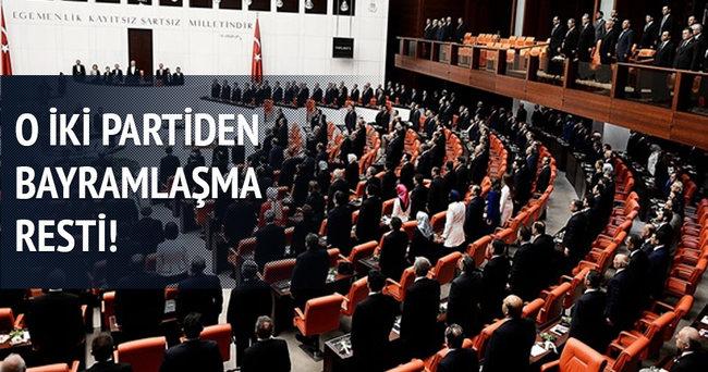 MHP ve HDP bayramlaşacak mı?