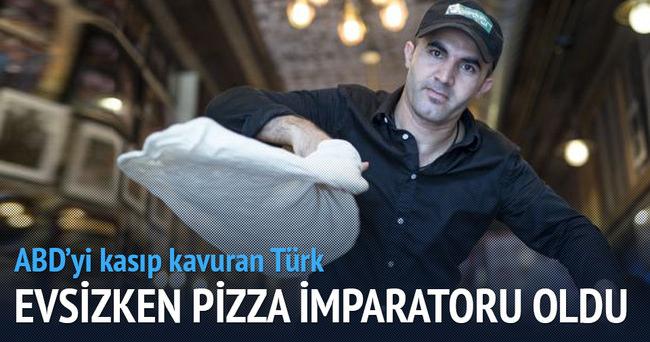 Evsizdi pizza impartoru oldu