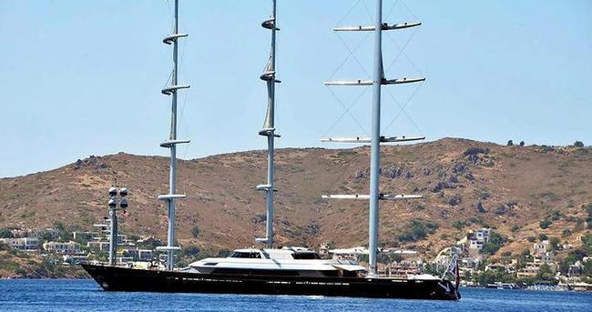 Dünyanın en modern yelkenlisi Bodrum'da