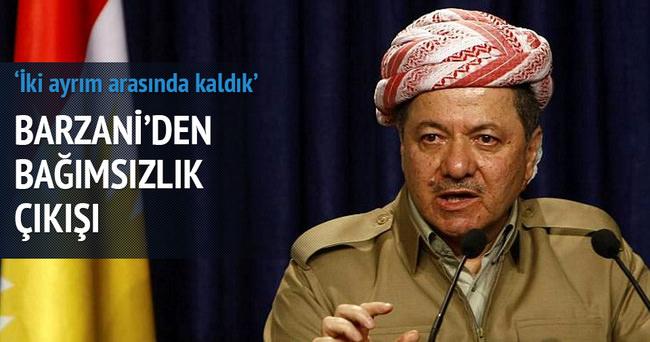 Mesut Barzani'den bağımsızlık çıkışı