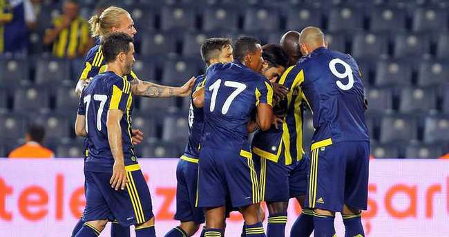 Fenerbahçe Vitoria Guimaraes'ı 3-1 mağlup etti