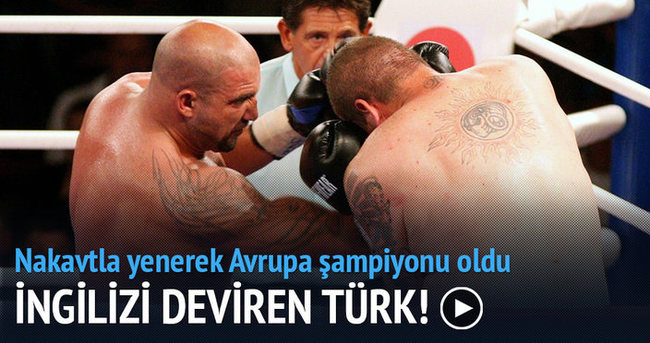 Erkan Teper jet nakavtla Avrupa Şampiyonu