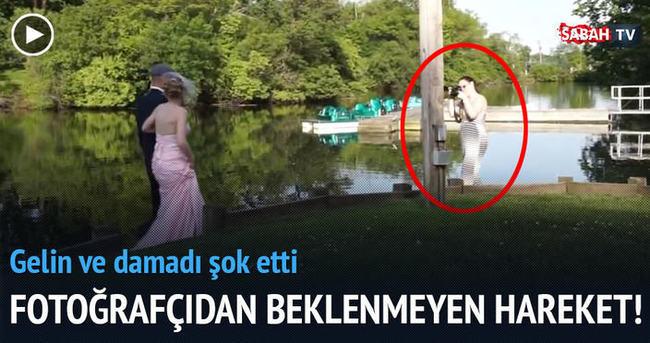 Sakin düğünü hareketlendiren düğün fotoğrafçısı