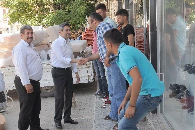 Milletvekillerinden Çelikhan'a Ziyaret