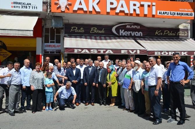 AK Parti Alaplı İlçe Teşkilatında Bayramlaşma