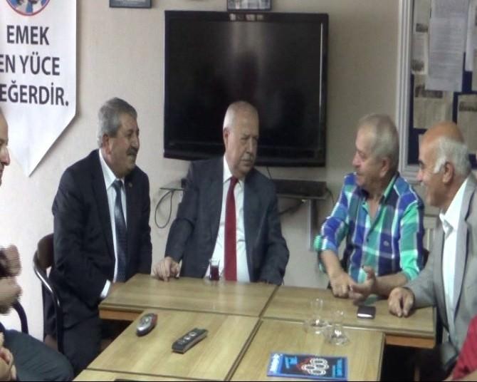 Akdemir'den Belediye İş Sendikasına Ziyaret