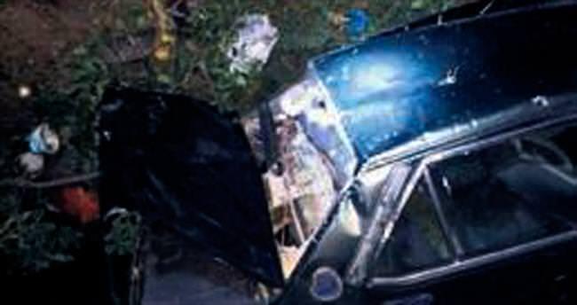 Kızılcahamam'da kaza: 2 ölü, 1 yaralı